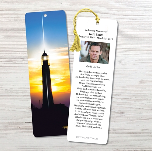Picture of Lighthouse Bookmark