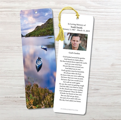 Picture of Canoe on Lake in Killareny Bookmark