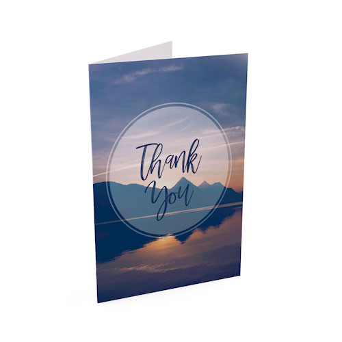 Picture of Still Waters Thank You Card