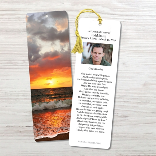 Picture of Ocean Sunset Bookmark