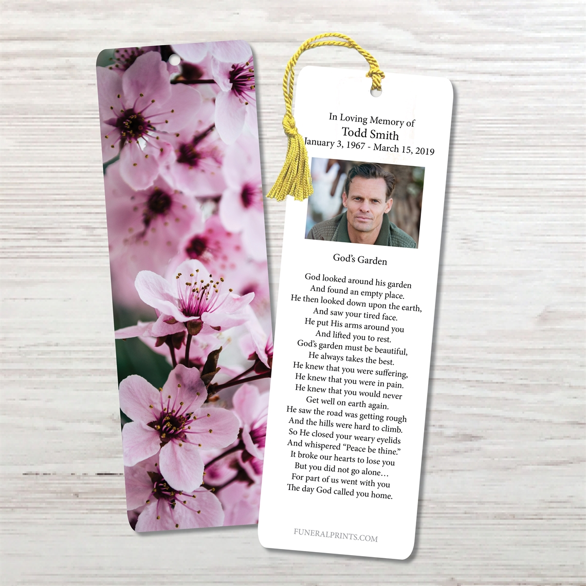 Picture of Beautiful Bloom Bookmark