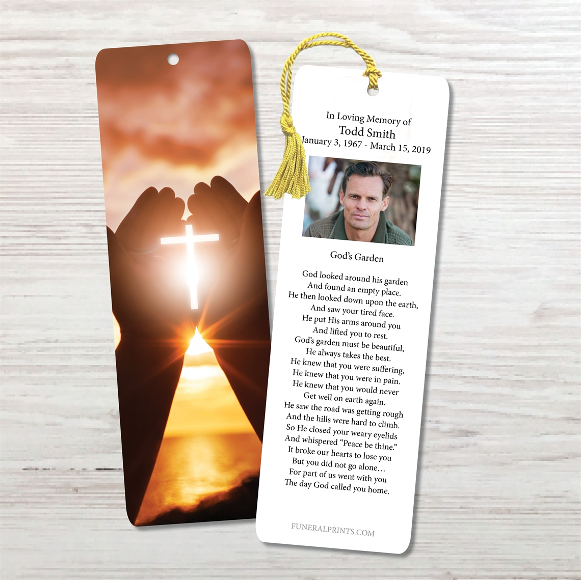 Picture of Heart in Hands Bookmark