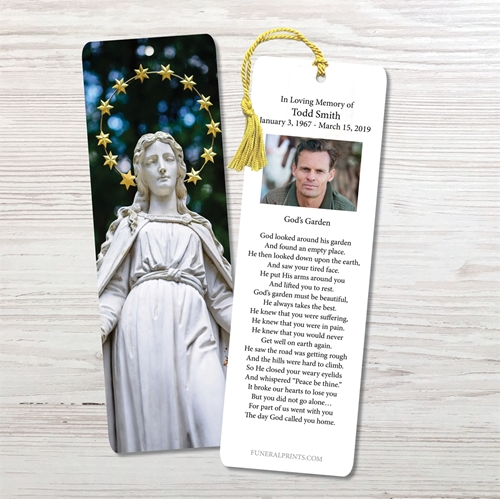 Picture of Statue of Virgin Bookmark