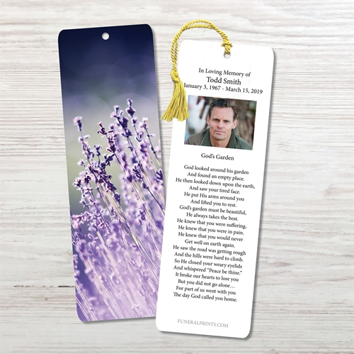 Picture of Lavender Lights Bookmark