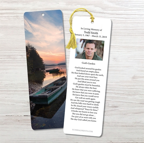 Picture of Lake Sunrise Bookmark