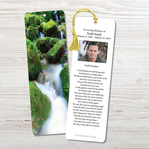 Picture of Moss on the Rocks Bookmark