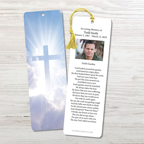 Picture of Cross in Clouds Bookmark