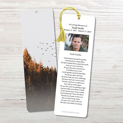 Picture of Fly Away Fog Bookmark