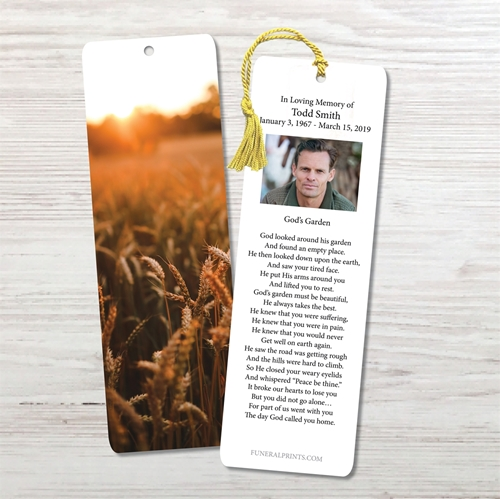 Picture of Fields of Wheat Bookmark