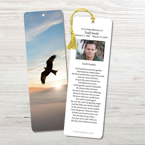 Picture of Sunrise Dove Bookmark