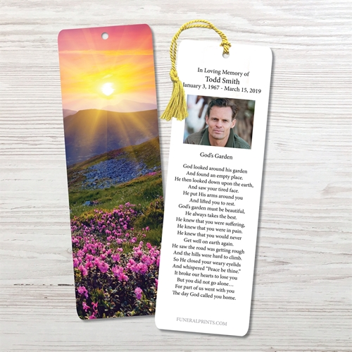 Picture of Purple Fields Bookmark