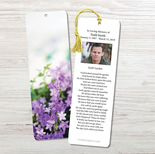 Picture of Soft Lavender Bookmark